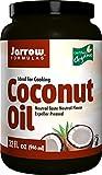 Jarrow Formulas 100% Organic Coconut Oil, 32 Ounce
