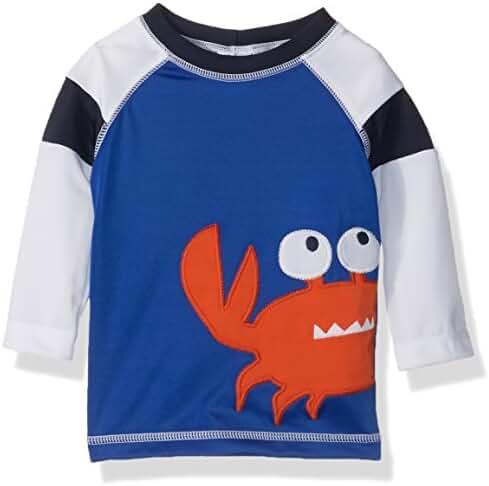 Gymboree Baby Toddler Boys' Blu Crab Rashguard