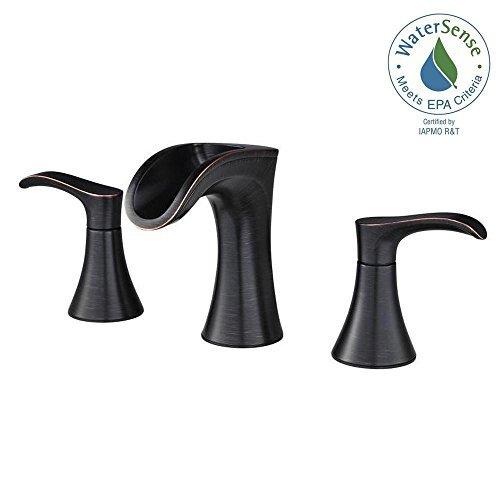 (Pfister Brea Widespread 2 Handle Bathroom Faucet Tuscan Bronze)