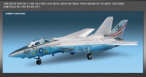 12705 F-14 TOMCAT Academy Plastic model Kits 1//100 F-14A