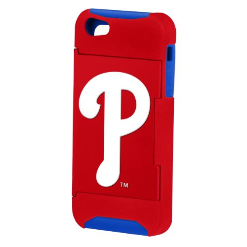 Forever Collectibles MLB Hideaway Credit Card iPhone 5 Hard Case - Retail Packaging - Philadelphia Phillies