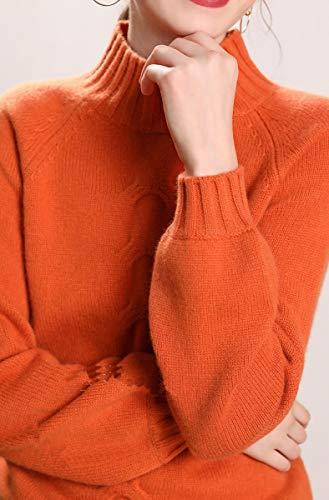 Manica Dissa Lunga Orange Donna Maglione 5gng7qZO