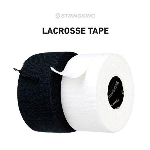 StringKing Lacrosse Tape (2 Pack), Black/White