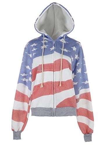 Anna Kaci Womens Fashion American Patriotic