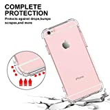 RORSOU iPhone 6s Case,iPhone 6 Case, Clear