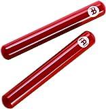 Meinl Percussion CL7R Premium Fiberglass Claves, Red