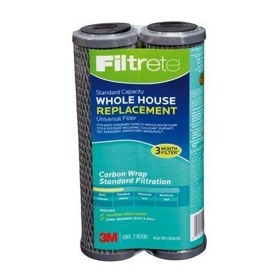 Price comparison product image Filtrete Air Purifiers 3WH-STDCW-F02 Filtrete Whole House Carbon Replacement Filter 2 Count