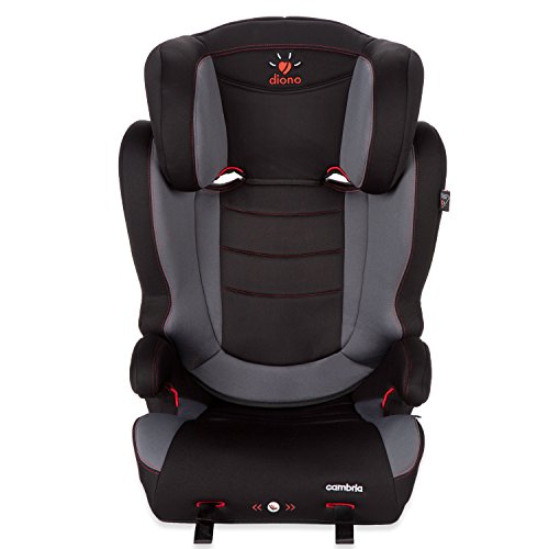 Diono Cambria Booster 2-in-1 Car Seat, For Children from 40-120 Pounds, Graphite