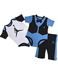 Jordan Infants Boys Bodysuit and Pants 3 Pcs Layette Set...