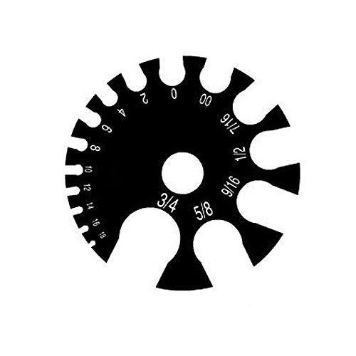 BodyJewelryOnline Acrylic Gauge Measurement Wheel