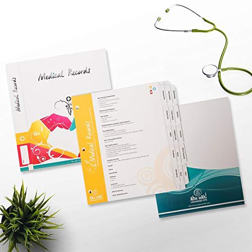 - Ahh Hah Medical Records Organizer Kit