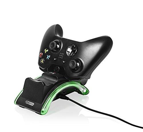 prif XB1 - Helix 1 Illuminated Docking Station (x2 Controllers) - Xbox One