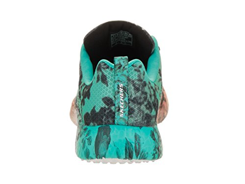 Skechers Burst Wilde Rose Mujer US 5.5 Negro Zapatillas