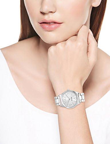 Nine West Women's NW/1663SVSB Silver-Tone Bracelet Watch 3