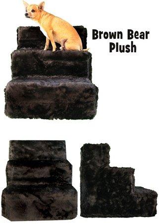 Pet Flys Brown Bear Plush Pet Steps by Pet Flys