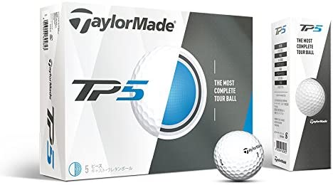 TaylorMade TP5 Prior Generation Golf Balls (One Dozen)