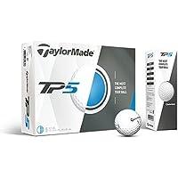 TaylorMade TP5 Pelotas de Golf de Primera generación (una docena)