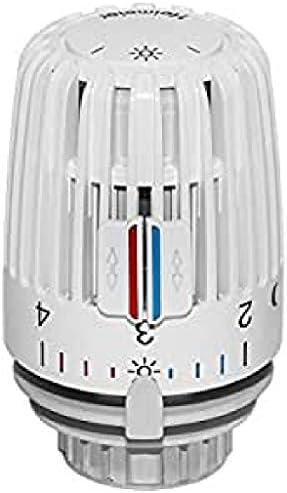 Multicolore Heimeier HEIMFF T/ête de thermostat k 7000 blanc
