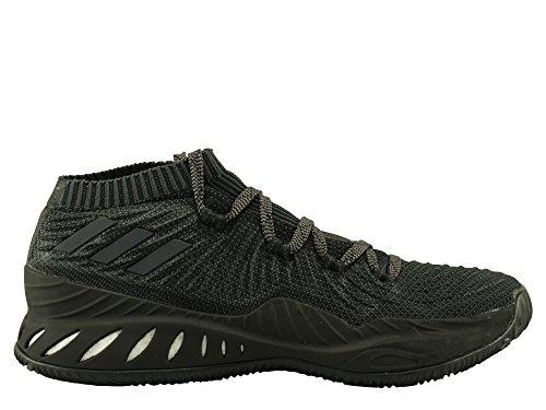 Adidas Mens Crazy Explosive Low 2017 Pk, Cblack / Grefou / Carbon, 10.5 M Ons