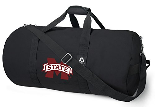 Gym Bulldogs Mississippi State Bag (OFFICIAL MSU Bulldogs Duffle Bag or Mississippi State University Gym Bags Suitcases)