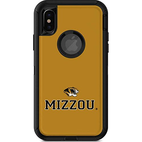 innovative design 5b8a2 68df7 Amazon.com: Skinit Mizzou Mascot Gold OtterBox Defender iPhone X/XS ...