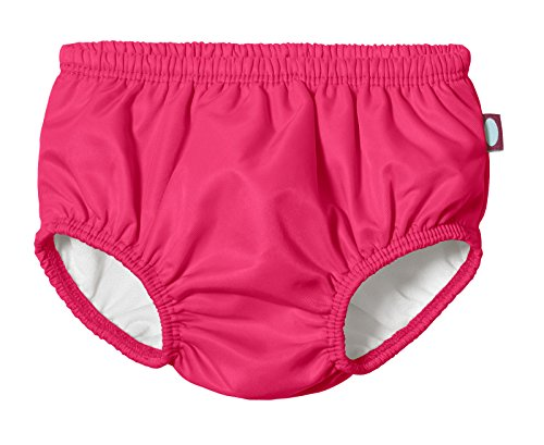 Price comparison product image City Threads Baby Girls' and Boys' Swim Diaper Cover Reusable Leakproof For Swimming Pool Lessons Beach,  Hot Pink,  9-12 Months
