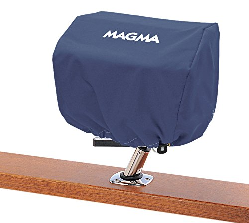 (Magma Products, A10-890CN Sunbrella Rectangular Grill Cover, Captains Navy, 9