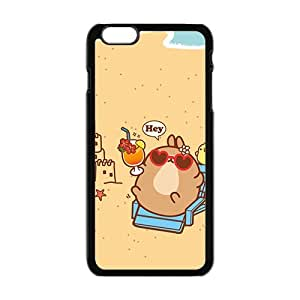 hey cute cartoon personalized high quality cell phone case for Iphone 6 Plus by runtopwellby Maris's Diary