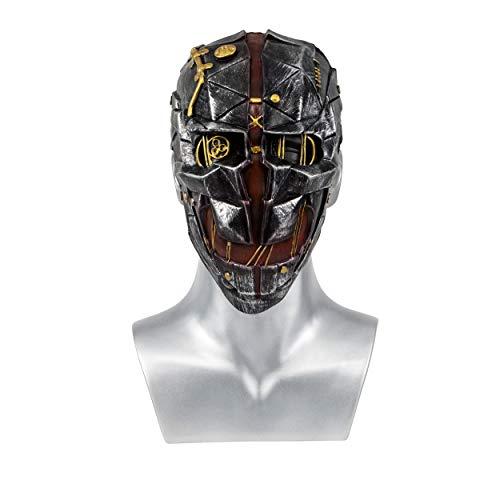 Dishonored 2 Cosplay,Dishonored 2 Mask, Corvo Attano Cosplay,Corvo Attano Masks Halloween Props for -