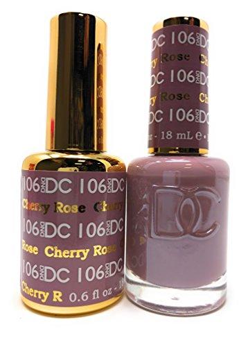 DND DC Duo Gel + Polish - 106 Cherry Rose