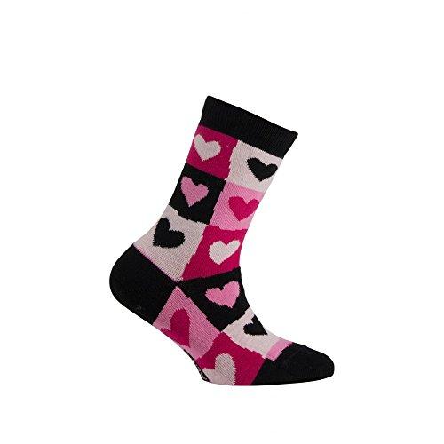 Modèle chaussettes Curs En Rose Mi Coton Achile Motif Darling vqtII5