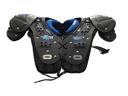 Schutt Sports Youth Shoulder Pad Black/Blue YM