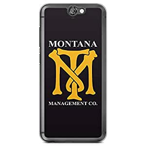 Loud Universe Montana Management HTC A9 Case Scarface Tony HTC A9 Cover with Transparent Edges