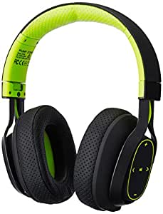 BlueAnt - Pump Zone Over Ear HD Wireless Headphones, 30+ hrs battery, Mega Bass and Enhanced Sound Purity (Green)