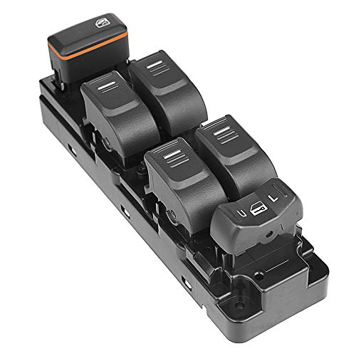 (Master Power Window Switch, AmyDong Front Driver Side Left LH for Colorado Canyon 4 Door)