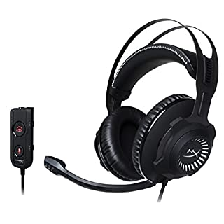 HyperX Cloud Revolver S - Gaming Headset with Dolby 7.1 Surround Sound - Steel Frame - Signature Memory Foam - Premium Leatherette - Detachable noise-cancellation microphone (B01N9RM9N3) | Amazon Products