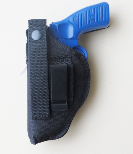 "Holster for Ruger SP101 - 3"" Clip-on or Belt Loop"
