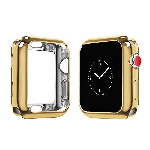 Funda protectora  Iwatch Series 1 2 3 4 5 Gold 44mm