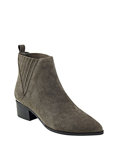 GUESS Women's Safarri Ankle Bootie, Gray, 6.5 M - Guess Boots Grey