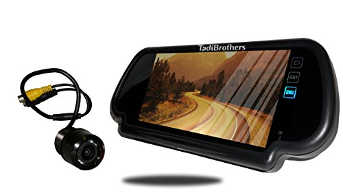 Tadibrothers 7 Inch Mirror and a 120 Degree Bumper Backup Camera