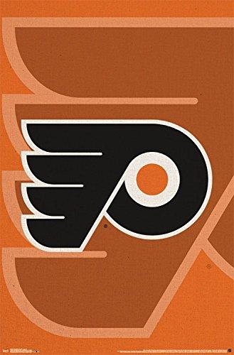 Poster Sports Logo (Trends International Philadelphia Flyers Logo Wall Poster 22.375