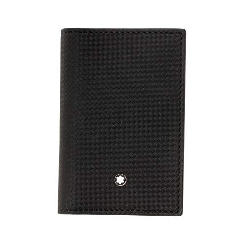 MontBlanc 111141 Westside Extreme Black Leather Business Card Holder