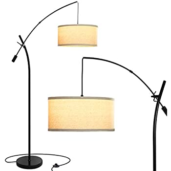 Brightech Grayson Arc Floor Lamp Tall Standing Lamp