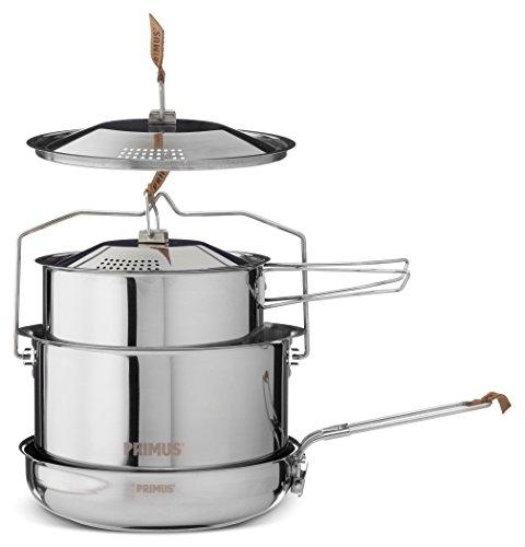 *Primus CampFire Cookset S/S P-738001 POTS&PANS Large