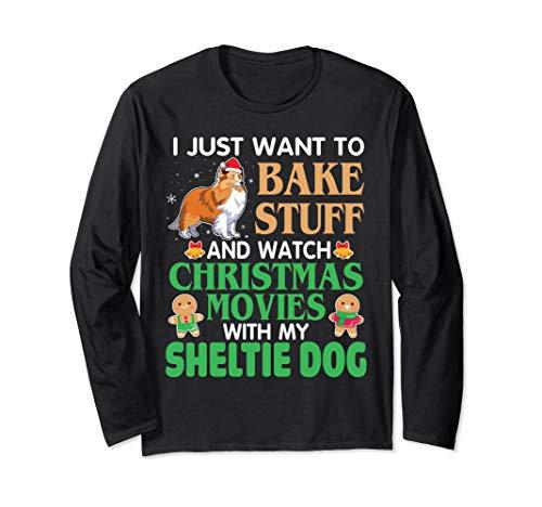 I Just Want To Bake Stuff & Watch Xmas Movies My Sheltie - Watch Sheltie