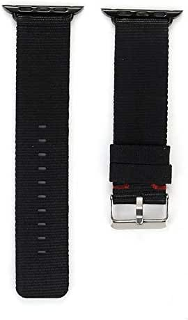 Compatible Apple Watch Strap 42mm, Nylon Sport Loop Band Replacement Wristband for Apple iWatch Series1/2/3/4