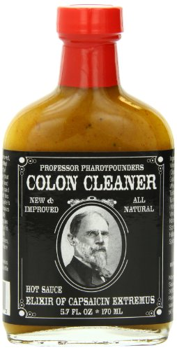 Hot Sauce - Professor Phardtpounders Colon Cleaner Hot Sauce, 5.7 Ounce