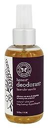 Honest Deodorant Lavender Vanilla 4.0 0z