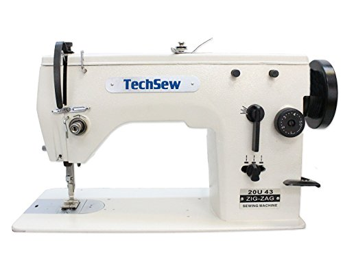 TechSew 20U43 ZigZag & Straight Stitch Industrial Sewing Machine with Assembled Table & Servo Motor