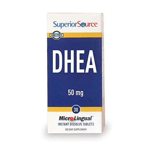 Superior Source DHEA Multivitamin, 50mg, 30 Count